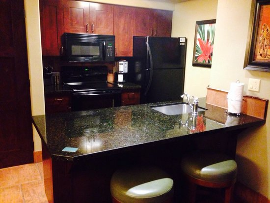 Hyatt Residence Club Sedona, Pinon Pointe: The full on kitchen...room 1523 A