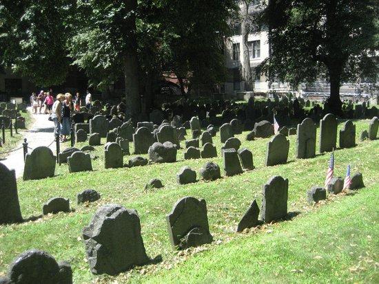 Omni Parker House: Old graveyards