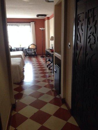 Casa del Balam Hotel: Entrada a la habitación