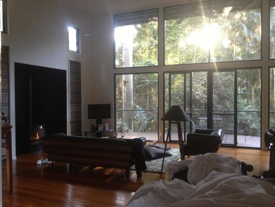 Pethers Rainforest Retreat : Great to wake up to the birds singing!