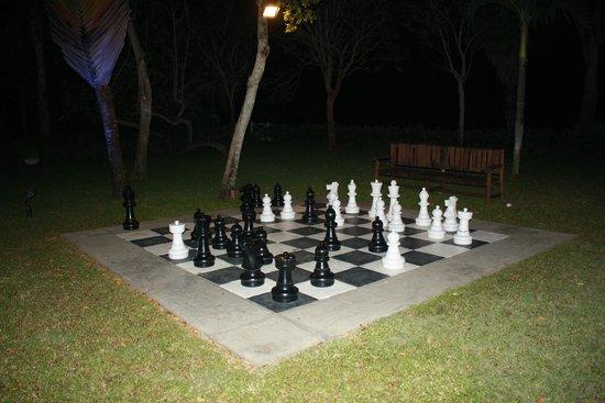 Beaches Negril Resort & Spa : Chess anyone?