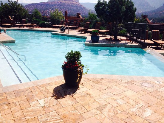 Hyatt Pinon Pointe: The pool has an awesome views!!!!