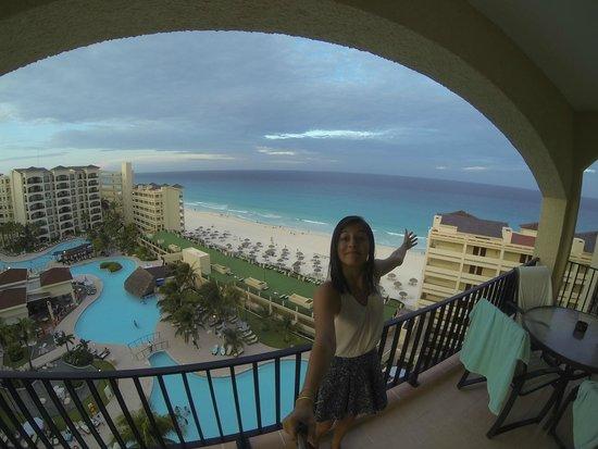 The Royal Caribbean : La vista desde el piso 11!