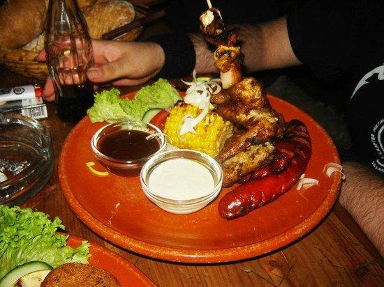 Tavern U Krale Brabantskeho: Food.