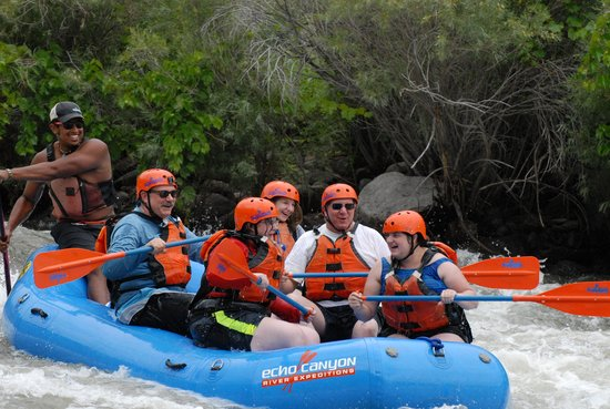 Echo Canyon River Expeditions - Day Trips: WooHoo! What a Great Rapid!