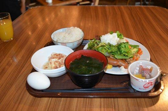 Hotel Mets Shibuya : 朝食です