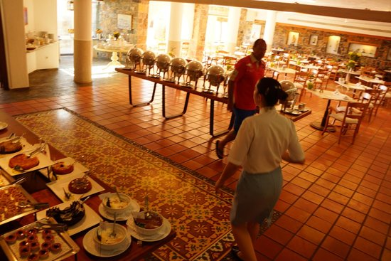 St. Nicolas Bay Resort Hotel & Villas : I liked the breakfast buffet, but be warned it doesn't change
