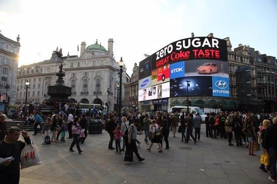 Piccadilly Circus : picadilly