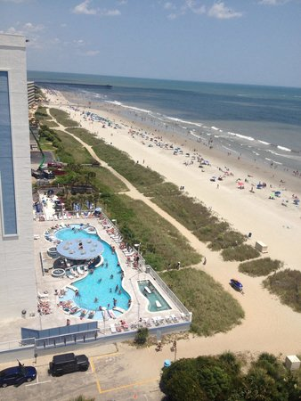 Sea Crest Oceanfront Resort: View from 14th floor
