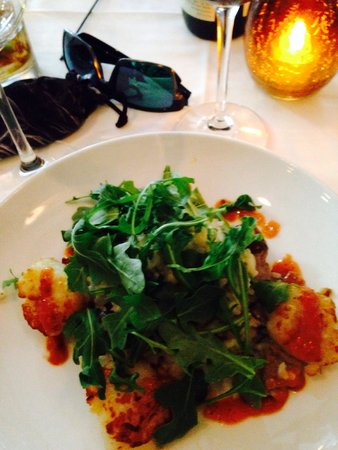 Dressler's Restaurant: Scallops with risotto