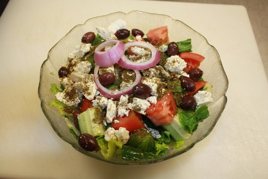 Kabab-Burger: Greek Salad
