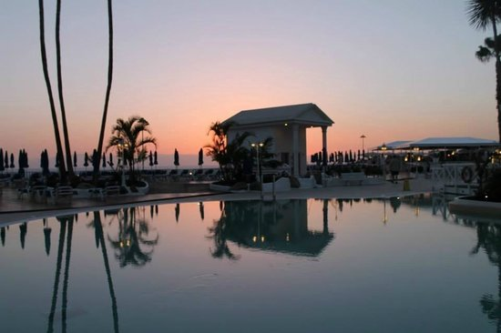 Guayarmina Princess Hotel : Sunset