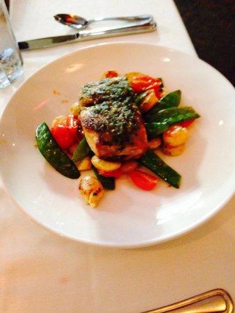 Dressler's Restaurant: Special -Mahi Mahi with gnocchi