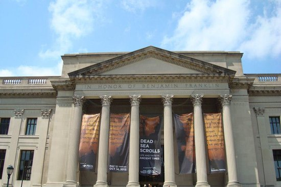 The Franklin Institute: Outside view