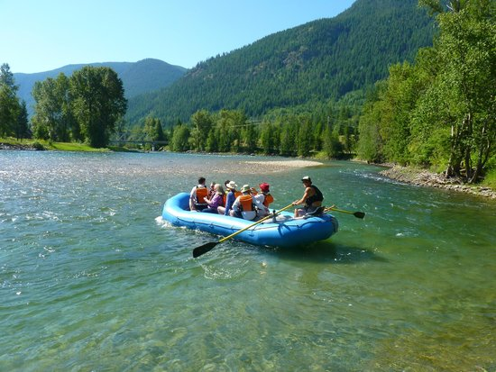 Nelson Whitewater Rafting Co.: fam trip - the best