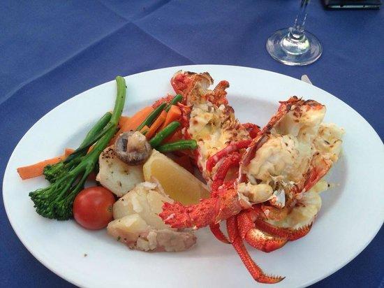 George's Paragon Seafood Restaurant Coolangatta: Yummy Lobster Lunch