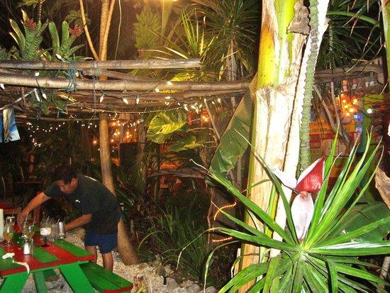 Tropical dining at Cantina Captiva