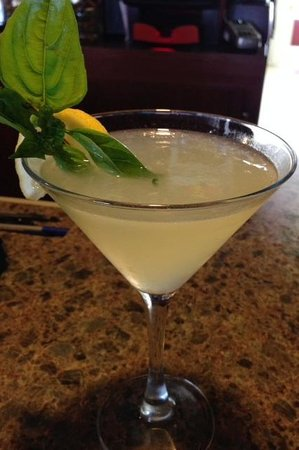 The Coach Sports Grille : Fresh Lemon & Basil Martini!