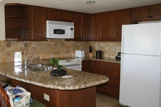 Luana Waikiki Hotel & Suites : キッチン