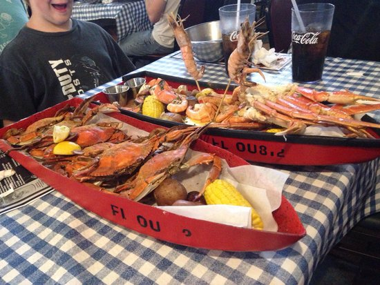 Dirty Dick's Crab House : Wow
