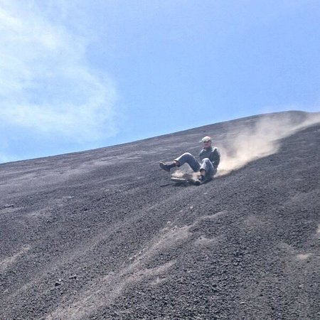 Mas Adventures: Volcano Boarding