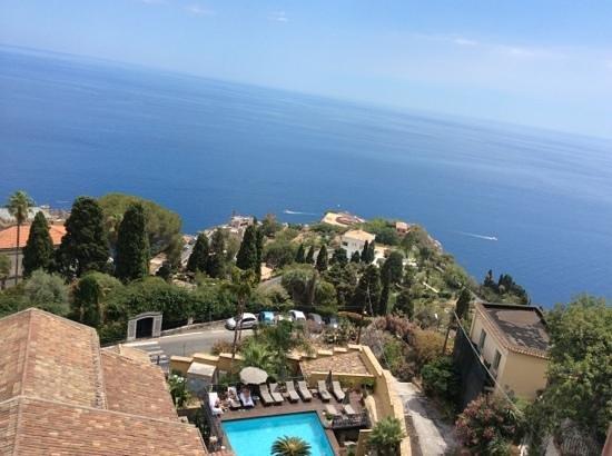 Hotel Villa Carlotta : vista do meu quarto.