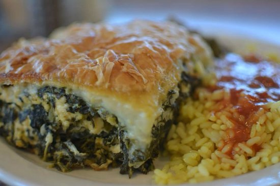 Christoffs Family Dining: Spinach pie