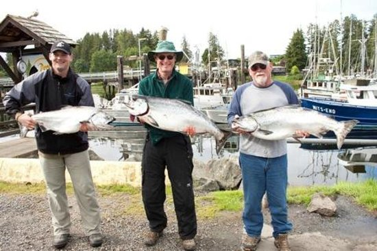 Leisure Suit Charters: What a day of fishing!