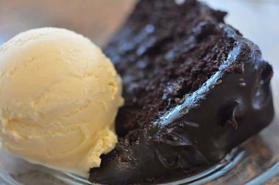 Christoffs Family Dining: Mary's chocolate cake