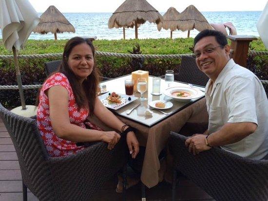 Ocean Coral & Turquesa : Outdoor dinning
