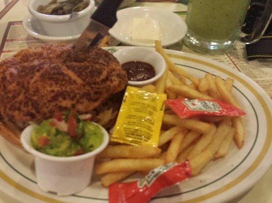 Panama : Burger