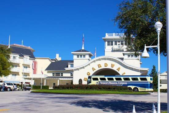 Disney's BoardWalk Villas: Boardwalk entrance