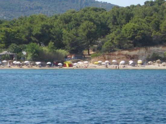 Quiet beach - Picture of National Marine Park of Alonissos ...