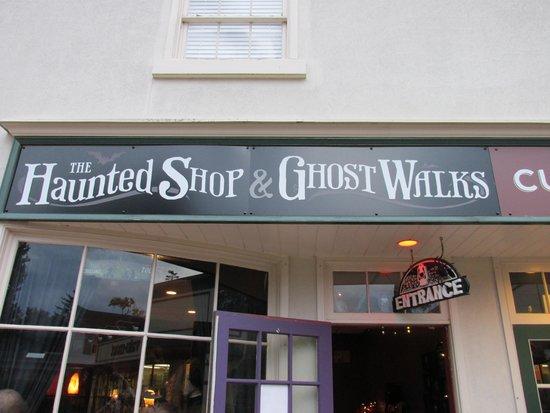 The Ghost Walks: start of the walk