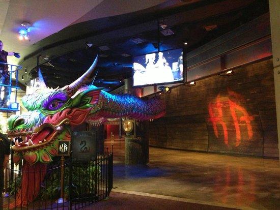 MGM Grand Hotel and Casino : Entrance to KA inside MGM