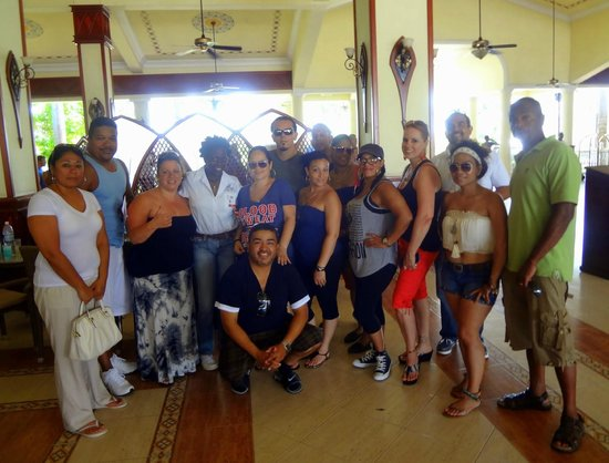 "ClubHotel Riu Negril: My family & friend from Boston & Jamaica's one & only ""Natalee"""