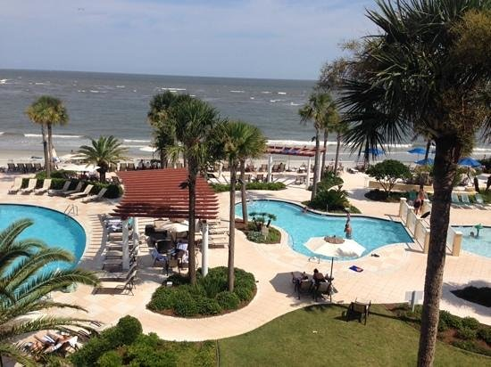 The King and Prince Beach and Golf Resort : room with a view