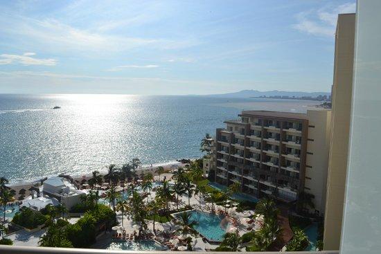 Secrets Vallarta Bay Resort & Spa: view from 11th floor