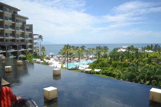 Secrets Vallarta Bay Resort & Spa: View from lobby area