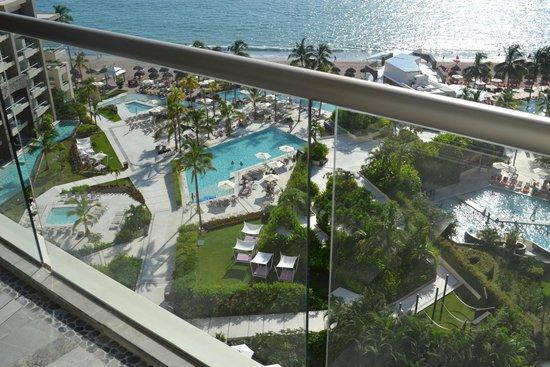 Secrets Vallarta Bay Puerto Vallarta: Pool view from room