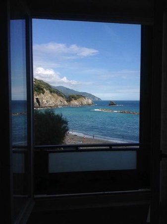 Hotel Pasquale : the view from our window. all rooms have this view.