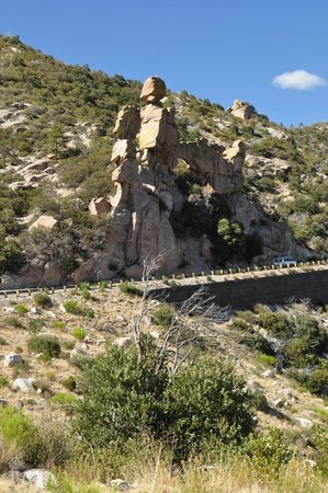 Mt. Lemmon Scenic Byway : Mt Lemmon Highway View