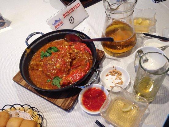 Jumbo Seafood : Dinner