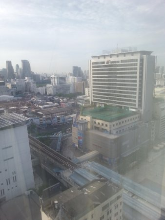 Mercure Bangkok Siam: taken from room 2205