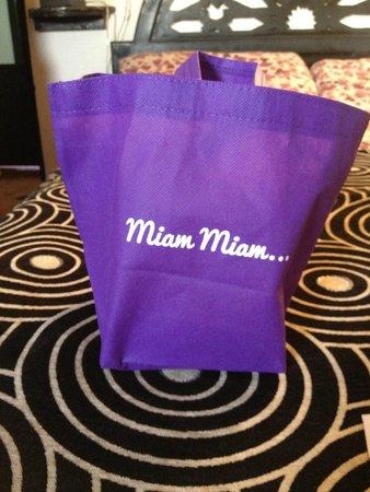 Patisserie Amandine Marrakech : Take away bag