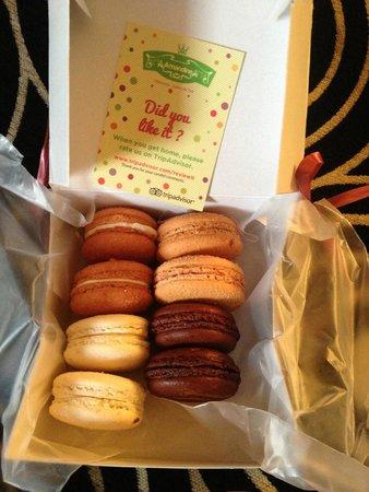 Patisserie Amandine Marrakech : Macarons