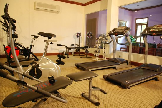 Steung Siemreap Thmey Hotel : Fitness Centre