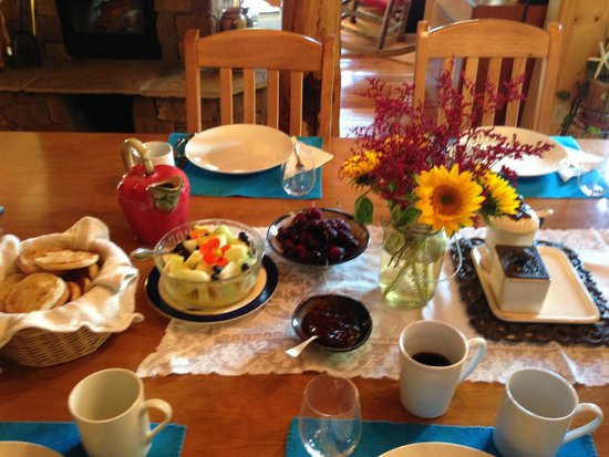 Teton View Bed & Breakfast: More Breakfast!