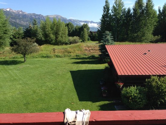 Teton View Bed & Breakfast: From 2nd floor balcony