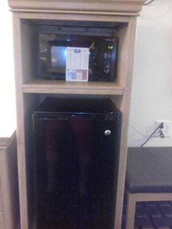 Americas Best Value Inn-Nashville/Downtown: microwave & fridge